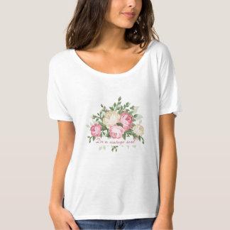 Hübsches Vintages Blumen bin ich ein Vintages Soul T-Shirt