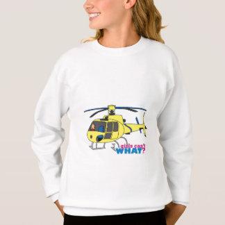 Hubschrauber-Pilot Sweatshirt