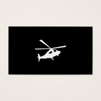 Hubschrauber-Piloten Visitenkarte
