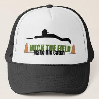 Huck das Feld, machen den Fang Truckerkappe