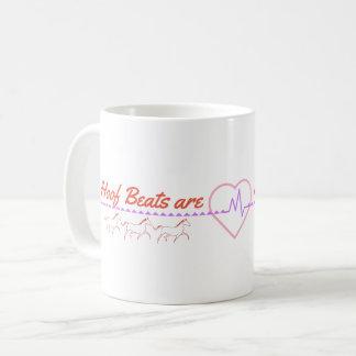 Huf-Schläge sind meine Herz-Schläge Kaffeetasse