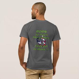 Hufeisen-grundlegender amerikanischer KleiderT - T-Shirt