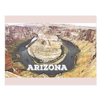 Hufeisenbiegung - Grand Canyon - Arizona Postkarte