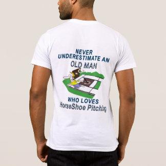 Hufeisennicken-amerikanische Kleidertasche T T-Shirt