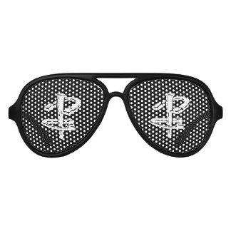 Hufeisennicken-erwachsene Flieger-Party-Schatten Piloten Sonnenbrillen