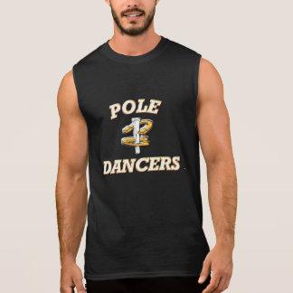Hufeisennicken Sleeveless T-Stück-Pole Tänzer Ärmelloses Shirt