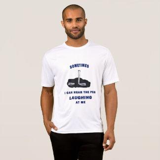 Hufeisennicken-Sport Tek T-Stück T-Shirt