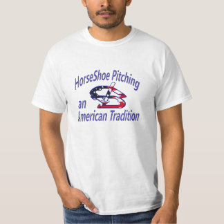 Hufeisennicken-Wert-T-Stück T-Shirt