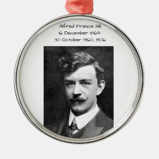 Hügel 1906 Alfreds Francis Silbernes Ornament