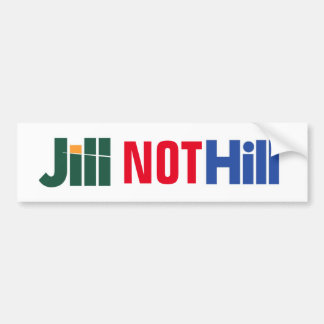"Hügel-"" Jill Stein Anti-hillary ""Jill Aufkleber Autoaufkleber"