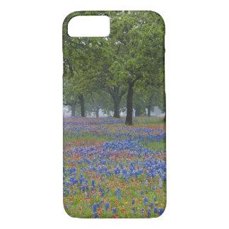 Hügel-Land Texas, Texas, Texas-Malerpinsel und iPhone 8/7 Hülle