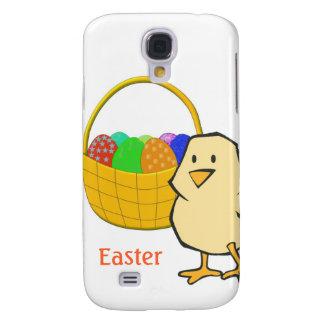 Huhn mit Ostern-Korb der Eier Galaxy S4 Hülle