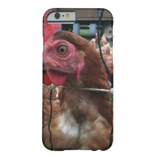 Huhn passt Sie auf Barely There iPhone 6 Hülle