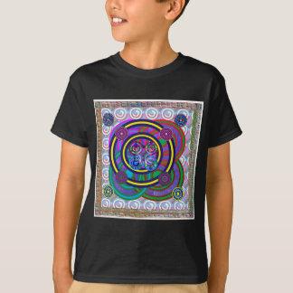 Hula Band-runde bunte Kreise T-Shirt