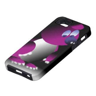 Hülle für iPhone mit Bild des violetten Bären WENN