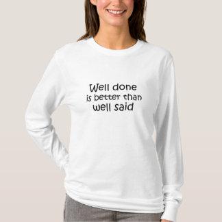 Hülsen-Geschenkidee des Shirts der Inspirational