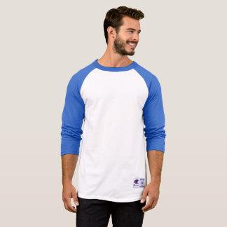 Hülsen-Shirt der Männer der Meisterraglan-3/4, T-Shirt