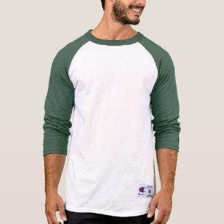 Hülsen-Shirt GRÜN-DUNKELHEIT der Männer der T-Shirt
