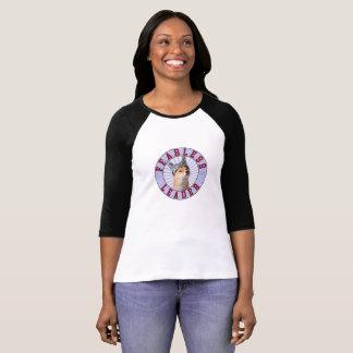 Hülsen-T - Shirt der Frauen furchtloser des