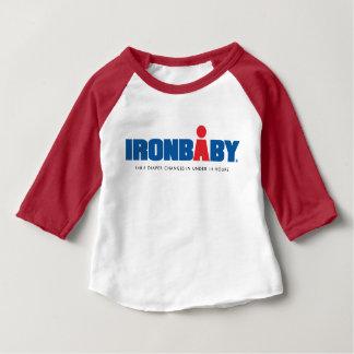 Hülsen-T - Shirt des Eisen-Baby-3/4
