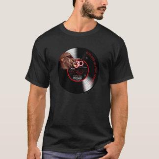 HÜLSEN-T - SHIRT-Schwarzes D FLOYD 30yrs T-Shirt