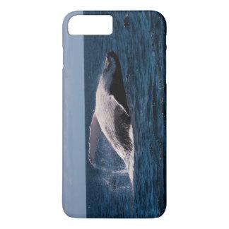 Humback Wal, der auf den Strand setzt iPhone 6 iPhone 8 Plus/7 Plus Hülle