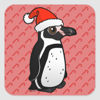 Humboldt-Pinguin Sankt Quadratischer Aufkleber