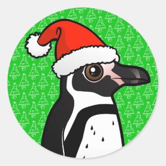 Humboldt-Pinguin Sankt Runder Aufkleber