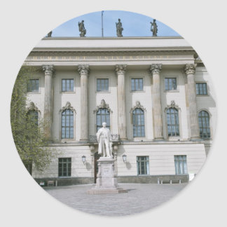 Humboldt-Universität in Berlin Runder Aufkleber