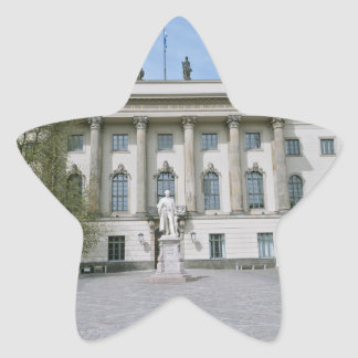 Humboldt-Universität in Berlin Stern-Aufkleber
