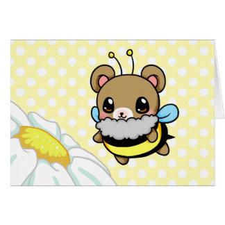 Hummel-Bär Grußkarte