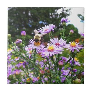 Hummel-Biene in der Blume Fliese