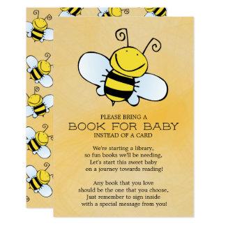 Hummel-Bienen-neutrales Baby-Duschen-Buch für Baby Karte