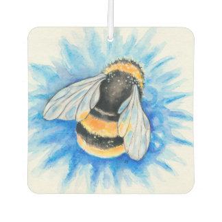 Hummel-Bienewatercolor-Kunst Autolufterfrischer