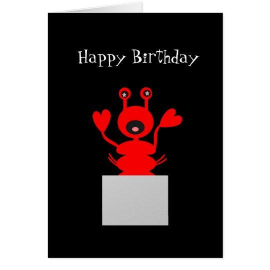 Hummer-Geburtstags-Karte! Aufenthalt aus Grußkarte
