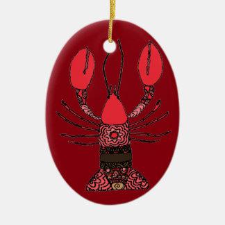Hummer Keramik Ornament