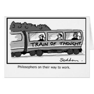Humorvolle Grußkarte durch Mike Seddon