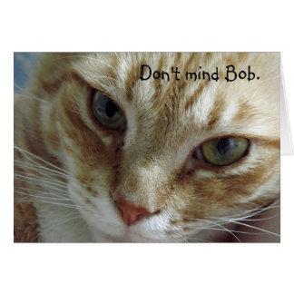 Humorvolle Katzen-Geburtstags-Karte Karte