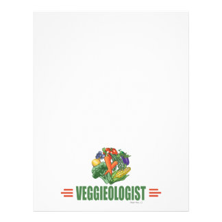 Humorvoller Vegetarier 21,6 X 27,9 Cm Flyer