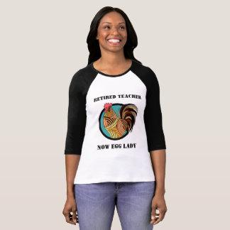Humorvolles pensioniertes Lehrer-Shirt T-Shirt