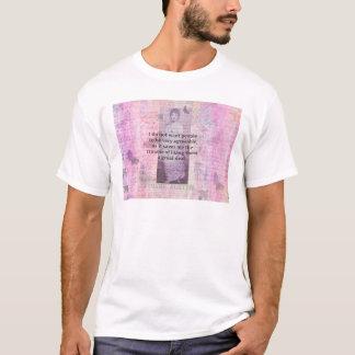 Humorvolles snarky Zitat Jane Austens T-Shirt