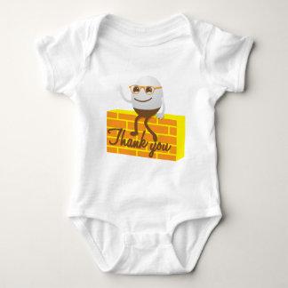 Humpty Dumpty danken Ihnen Baby Strampler