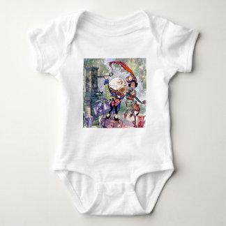 Humpty Dumpty erhält Loud im Märchenland Baby Strampler