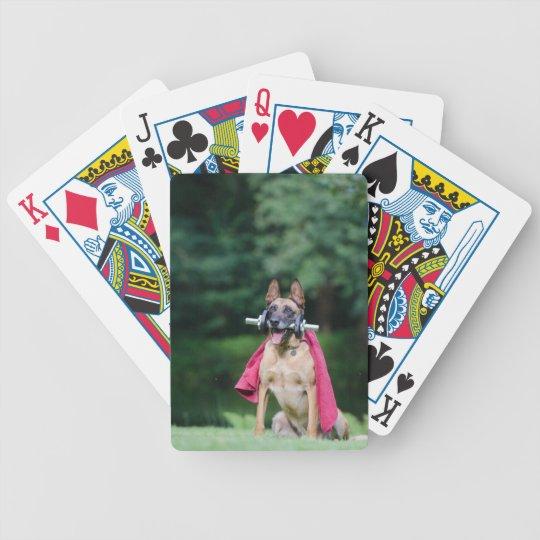 Hund Bicycle Spielkarten