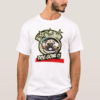 Hund gegangen ihm T-Shirt