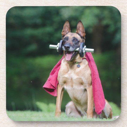 Hund Getränkeuntersetzer