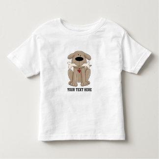 Hund mit dem Knochen (kundengerecht) Kleinkinder T-shirt