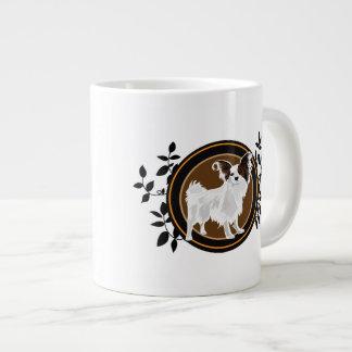 Hund Papillon Extragroße Tassen