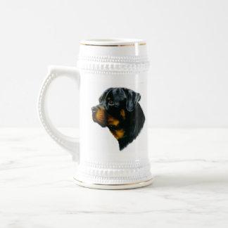 Hund-rottweiler Bierkrug