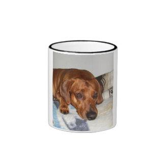 Hund Teetassen